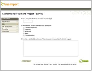 Impact Survey View