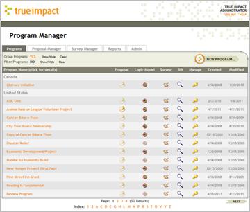 True Impact Program Manager